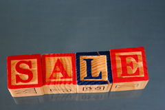 The term sale Royalty Free Stock Photos