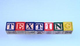 The term texting Stock Photos