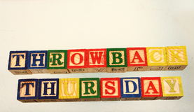 The term throwback thursday Stock Photos