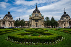 Termal de Budapest Szechenyi Imagen de archivo libre de regalías
