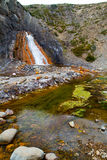 Termal springs, Cajon del Maipo, Chile Royalty Free Stock Photography