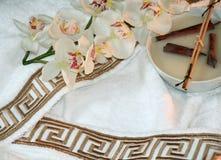 Termas brancos 2 Imagem de Stock Royalty Free