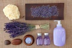 Termas da alfazema Foto de Stock Royalty Free
