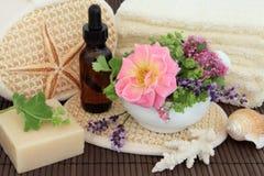 Termas da flor e da erva Foto de Stock Royalty Free