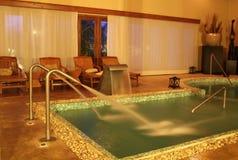 Termas da hidroterapia Fotos de Stock