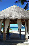Termas da praia de Filipinas foto de stock