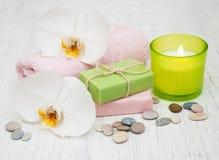 Termas das orquídeas Imagens de Stock