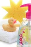 Termas do bebê no branco imagem de stock
