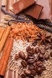 Termas do chocolate foto de stock royalty free