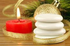 Termas do Natal Foto de Stock
