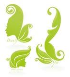 Termas e beleza ilustração royalty free