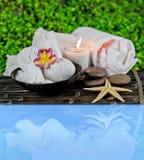 Termas e massagem Imagens de Stock