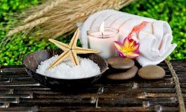 Termas e massagem Fotografia de Stock Royalty Free