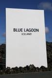 Termas geotérmicas da lagoa azul famosa em Islândia Fotografia de Stock Royalty Free