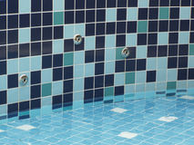 Termas - jatos de água da associação Imagem de Stock Royalty Free