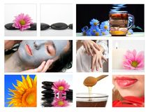 Termas-massagem imagem de stock