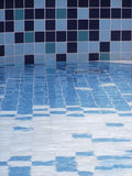 Termas - piscina interna Foto de Stock