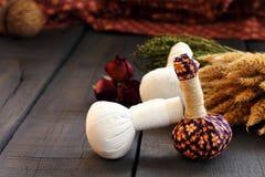 Termas tailandeses e massagem Imagem de Stock