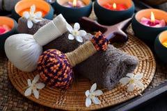 Termas tailandeses e massagem Imagem de Stock Royalty Free