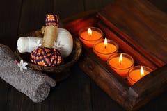 Termas tailandeses e massagem Fotografia de Stock Royalty Free