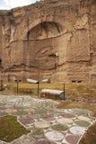 Terme di Caracalla在罗马 免版税库存图片
