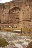 Terme Di Caracalla στη Ρώμη Στοκ εικόνες με δικαίωμα ελεύθερης χρήσης