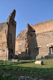 Terme di Caracalla. Caracalla's baths - Rome (Italy Royalty Free Stock Photos