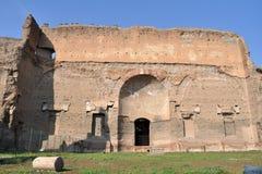 Terme di Caracalla. Caracalla's baths - Rome (Italy Stock Image