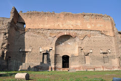 Terme di Caracalla стоковое изображение