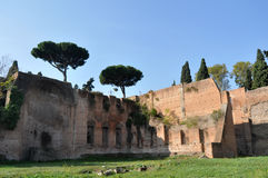 Terme di Caracalla Stock Photo