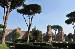 Terme di Caracalla Royalty Free Stock Photos
