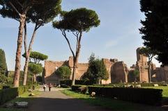 Terme di Caracalla. Caracalla's baths - Rome (Italy Royalty Free Stock Photo