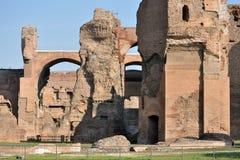 Terme di Caracalla Photo libre de droits