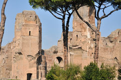 Terme di Caracalla Stock Photography