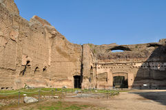 Terme Di Caracalla Stock Afbeeldingen