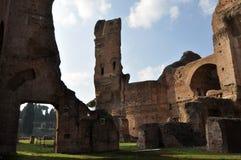 Terme di Caracalla Stock Photo