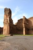 Terme di Caracalla (Baths of Caracalla) in Rome Stock Image