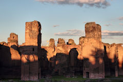 Terme di Caracalla Royalty Free Stock Photo