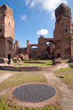 Terme di Caracalla Roma - Italy Royalty Free Stock Photo