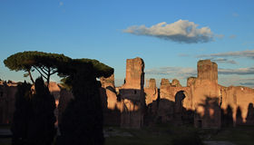 Terme di Caracalla in Rome Royalty Free Stock Photography