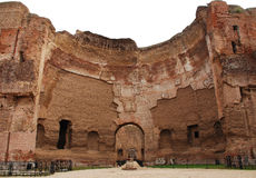 Terme di Caracalla in Rome, Italy Royalty Free Stock Photography