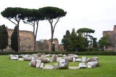 Terme Di Karacalla. Στοκ εικόνα με δικαίωμα ελεύθερης χρήσης