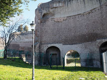 Terme di Traiano in Rome Royalty Free Stock Photo