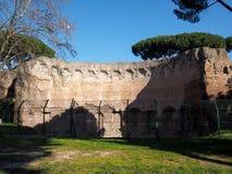 Terme di Traiano in Rome Stock Image