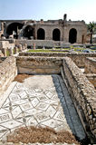 Terme Taurine. Civitavecchia,Rome Italy Terme Taurine is a Roman archaeological site located in Civitavecchia, isolated, on a hill just a few kilometers from the stock images