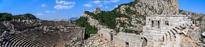 Termessos amfiteatr Obrazy Stock