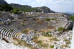 Termessos near alanya - turkey Royalty Free Stock Photography