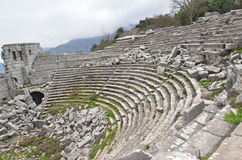 Free Termessos Theatre Royalty Free Stock Photo - 30236305