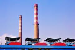 Termiczna elektrownia Zdjęcie Stock