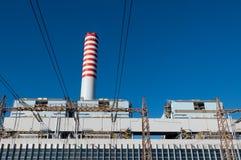 Termiczna elektrownia Obrazy Stock
